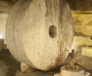 Old mill underground at Gallipoli in Salento, Italy