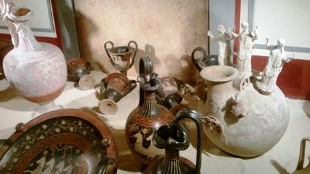 Produzione vascolare in mostra a Palazzo Sinesi