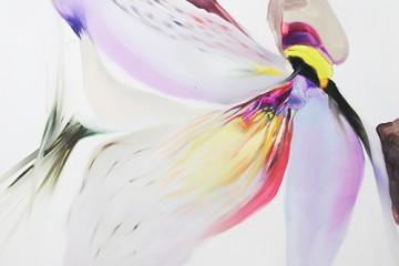 Opera al bianco 1 olio su tela 100x120 cm 2016