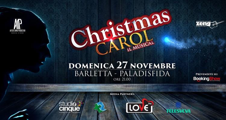 Christmas Carol il musical a Barletta