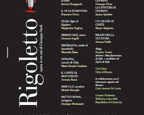 Locandina Rigoletto