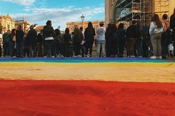 Giornata internazionale contro l'omobilesbotransfobia - Lecce 3