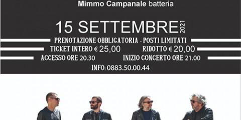 Loc. Bariville IVtet con Fabrizio Bosso, 15 settembre Palazzo delle Arti Beltrani